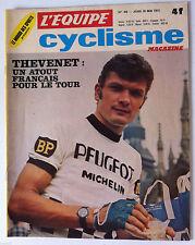 L'équipe Cyclisme 18/05/1972; Thevenet/ Yves Hezard/ 4 jours de Dunkerques