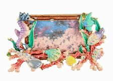 Sea Life Frame From Ciel Collectables with Enamel & Swarovski Crystals
