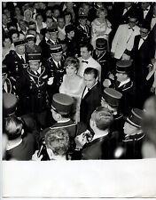 Photo Raoul Saguet - Gina Lollobrigida - Tirage argentique d'époque 1965 -