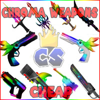 Roblox Murder Mystery 2(mm2) ALL 🔥Chroma & Godly Knives&Guns Cheapest prices🔥