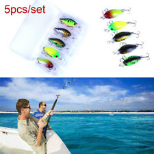 Señuelos de pesca 3D Ojos Minnow 5CM-4.2g Hoble Bass 5pcs / set