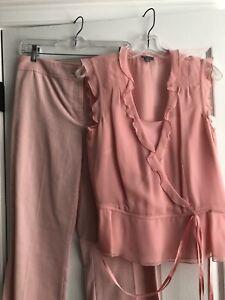 Ann Taylor Pant Suit Pink