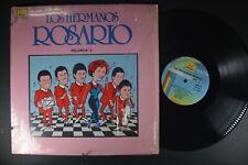 Los HERMANOS ROSARIO Vol. 3 LATIN LP Shrink KUBANEY