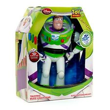 Toy Story Buzz Light Year Talks -english & Spanish All Parts Work Good Conditi