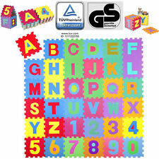 KIDUKU® Tappetino Tappeto Puzzle di 86 pezzi tappetino robusto per bambini