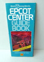 Walt Disney World Epcot Center Guide Book Map 1989 Brochure