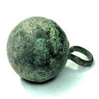 Dug Revolutionary War era foreign mercenary button Tanneytown MD - CONSERVED