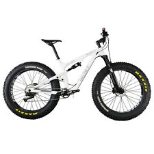 "IMUST Carbon Full Suspension Fat Tire Bike Snow Malamute 20"" Shimano XT Groupset"