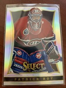 2013-14 Panini Select Silver Prizm Refractor Patrick Roy Montreal Canadiens