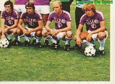 316 EQUIPE TEAM RSC.ANDERLECHT BELGIQUE STICKER FOOTBALL 1980 BENJAMIN RARE NEW