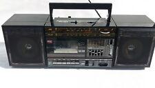 jvc pc 27 ghettoblaster boombox radio Vintage retro tragbar