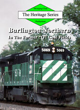 Railroad DVD: Burlington Northern in the 1980s