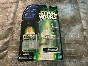 1999 MOC Star Wars Luke Skywalker With T16 Skyhopper Model Action Figure S13-BX3