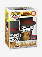 NYCC Funko POP MHA Mr Compress 2020 SHARED Fall Convention w/ Protector
