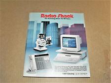New Listing1987 Radio Shack Electronics Catalog Robot Toys Audio Radio Vintage Electronics