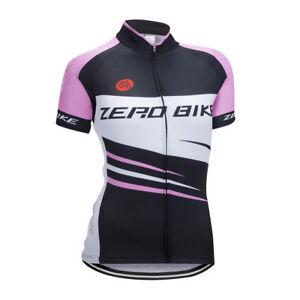 Women New  Sport Team Cycling Jersey Sets Bike Bicycle Top Short Sleeve Clothing