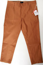 OBEY Latenight Sateen stretch Pant II - 32-NEW -$78- Khaki cropped chinos/slacks