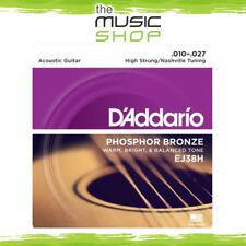 D'Addario EJ38H Phosphor Bronze High Strung Acoustic Guitar Strings - Daddario