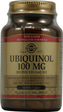 Ubiquinol (Reduced CoQ-10), Solgar, 50 gelcap 100 mg