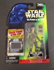 Endor Rebel Soldier 1997 STAR WARS Power of the Force POTF FF Freeze Frame