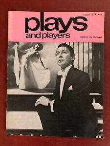 Cole Porter PLAYS & PLAYERS MAGAZINE August 1974 Peter Hall Una Stubbs Bullshot