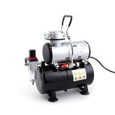 Fengda FD-186 Airbrush Kompressor mit Lufttank/Druckbehälter/ 4 bar / Auto Stop
