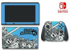 Super Smash Brothers Bros Ultimate Link Blue Game Decal Skin for Nintendo Switch
