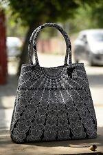 Indian Peacock Mandala Shopping Shoulder Carry Bag Tote Purse Women Handbag Boho