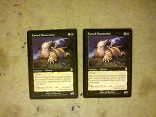 MTG Cursed Monstrosity x 2 - Rare - Odyssey - Magic The Gathering Cards Lot