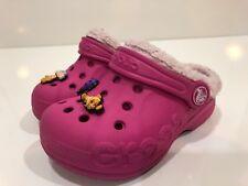 Crocs Girls' Clogs Sandals Shoes Toddler Size 6 -7