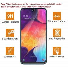 For Samsung Galaxy A10 A51 A40 A71 A50 A90 Clear Tempered Glass Screen Protector