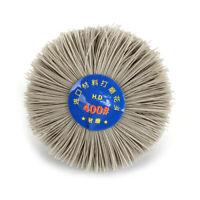 80-600Grit Abrasive Nylon Wheel Brush Polishing F Wood Metal Stone Metalworking