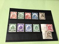 Burma Japanese Occupation 1943/1944 mint never Hinged & used Stamps Ref 51778