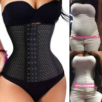 US Fajas Colombianas Waist Trainer Tummy Control Weight Loss Corset Body Shaper