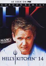 Hell's Kitchen Seasons Series 14 DVD Gordan Ramsey