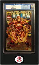 Iron Man vol 3 #1/2 CGC 9.6 | Wizard Magazine Exclusive Marvel 1999 Quesada