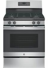 """New listing Ge Jgb645Sekss 30"""" Stainless Freestanding 5 Burner Gas Range Nib #116456"""