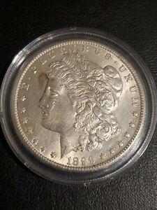 1899-O Morgan Silver Dollar BU - Light Toning Near Forehead On Obverse