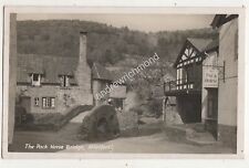 Pack Horse Bridge Allerford Somerset Vintage RP Postcard Nelson 698b