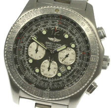 BREITLING B-2 A42362 Chronograph Date Automatic Men's Wrist Watch_495630