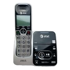 ATT Cordless Answering System CRL32102 Black Land Line Telephone w/ Power Cord
