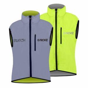 Proviz Switch Hi Viz Women's Cycling Gilet Yellow / Reflective Hi Visibility