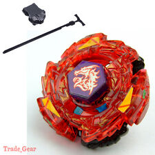 Fusion Beyblade Masters Metal METED L-DRAGO RUSH (RED) NEW!!!-A w/ Power Launche