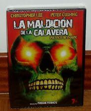 LA MALDICION DE LA CALAVERA-DVD-NUEVO-PRECINTADO-TERROR-THRILLER-CHRISTOPHER LEE