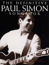 The Definitive Paul Simon Songbook Sheet Music Book NEW 014033234