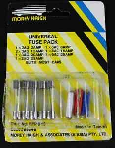 UNIVERSAL FUSE PACK - SUITS MOST CARS (x2) packs EFP845