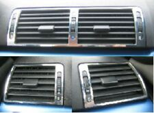 Blenden Lüftungswalzen Edelstahl Chrom passend für BMW E46 NEU
