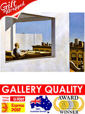 NEW Edward Hopper, Office In A Small City, 1953, Giclee Art Print or Canvas