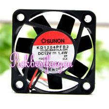 SUNON KD1204PFB2 11.2.B4314.A.GN Cooling fan DC12V 1.4W 40X10mm 2pin #ME93 QL
