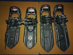 "(2) Pair Vintage MSR Seattle USA Denali Snowshoes Tails 26""30"" Free Shipping"